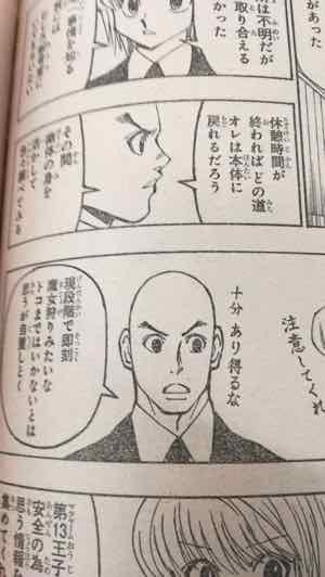 集英社 ハンターハンター374話より引用