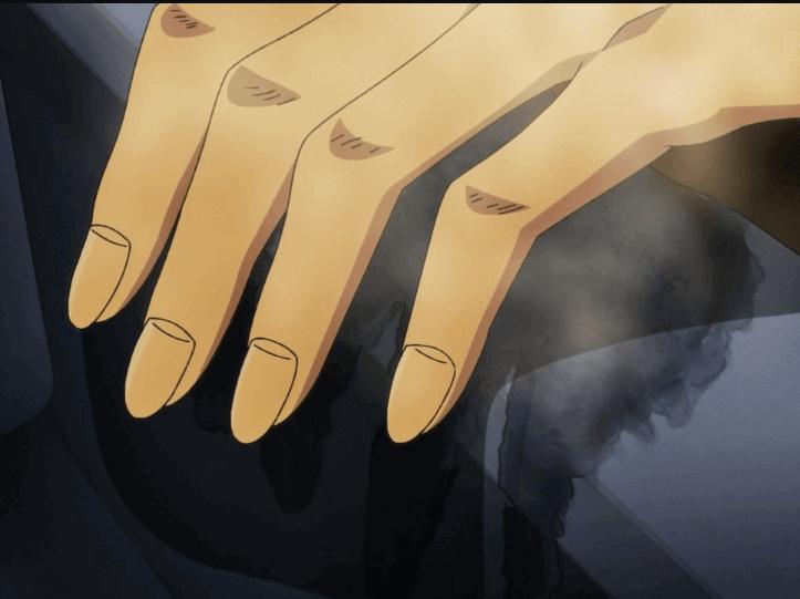 ジョジョ5部25話 トリッシュの手