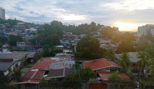 サウスピークEOP校の屋上からの風景