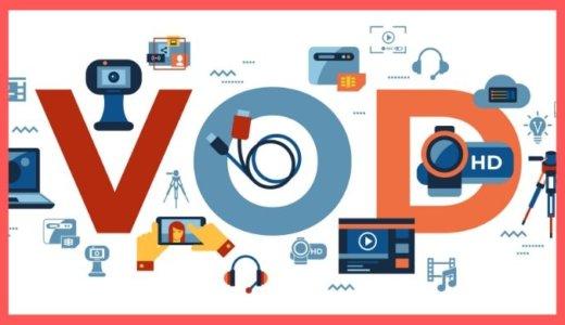動画配信サービス(VOD)の失敗しない選び方とおすすめを語る【無料体験あり】